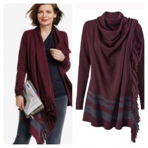 CAbi Wrap Sweater